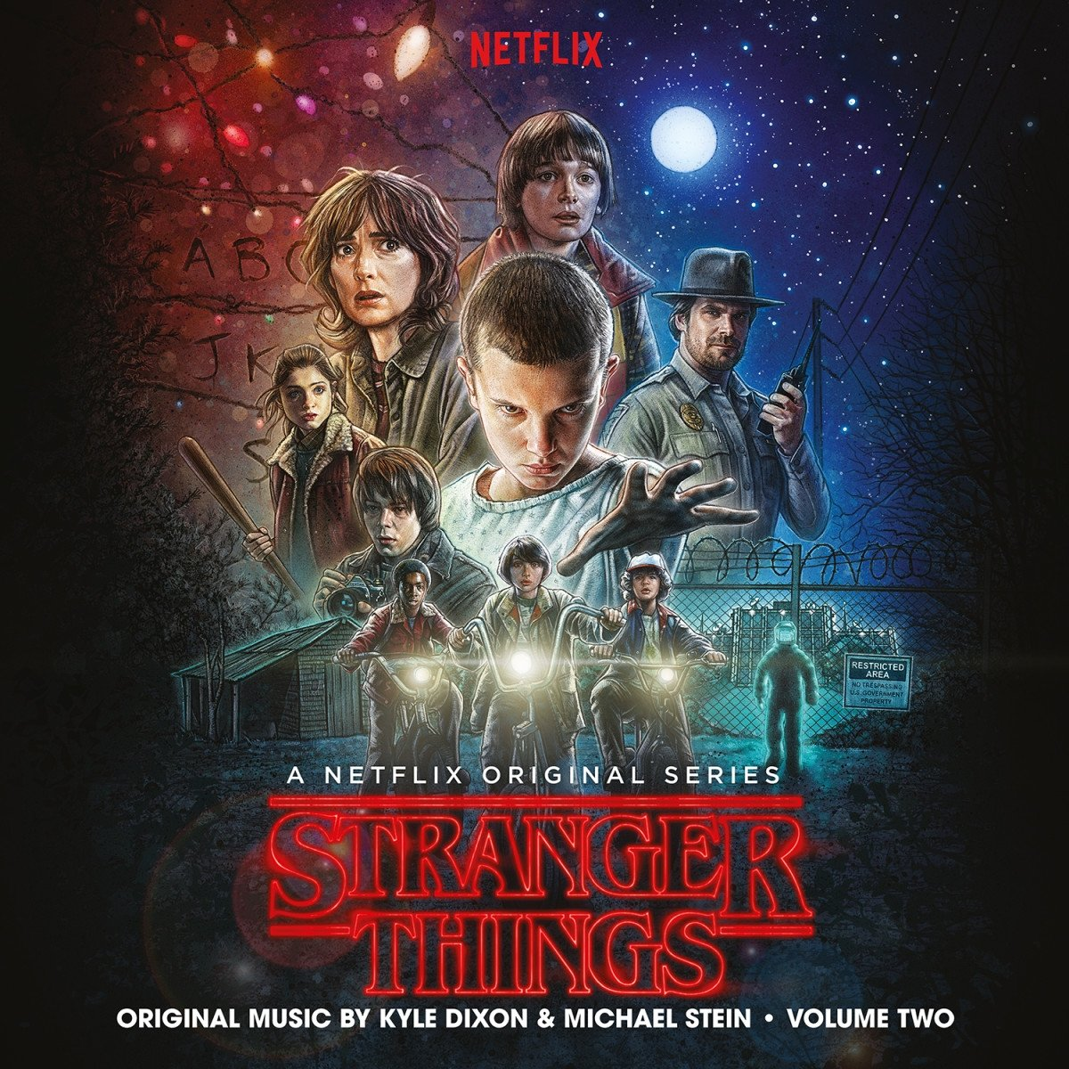 Stranger New color Things Super intense SALE Season 1 Vol.2
