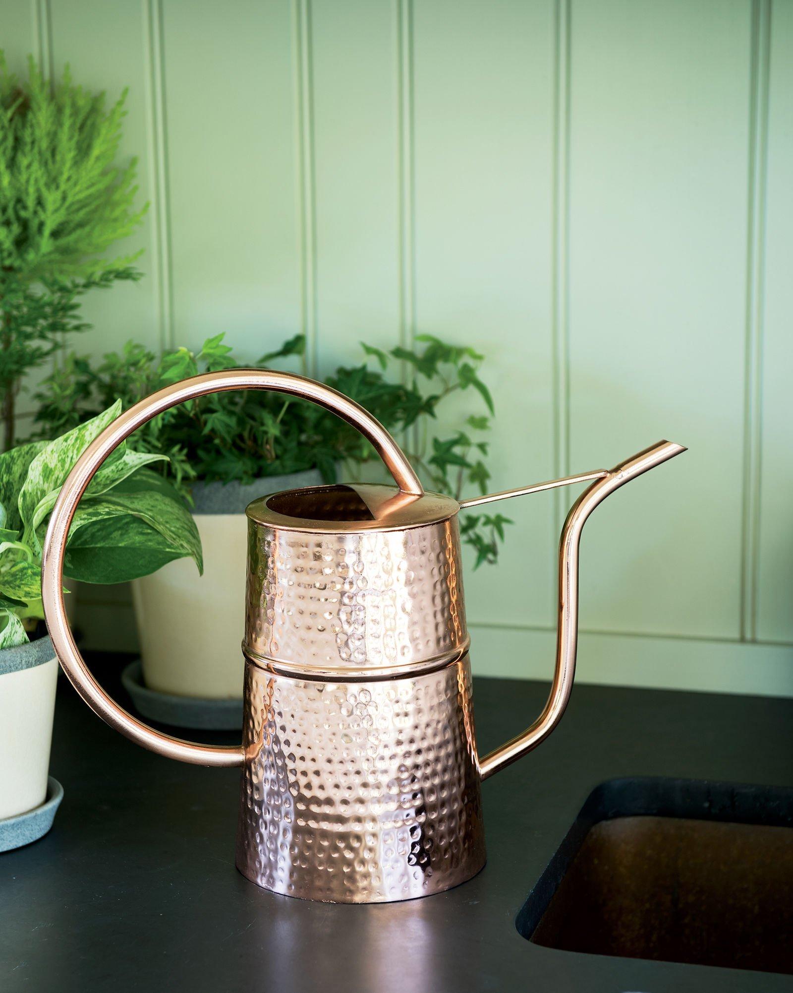 Gardener's Supply Company Copper Indoor Watering Can