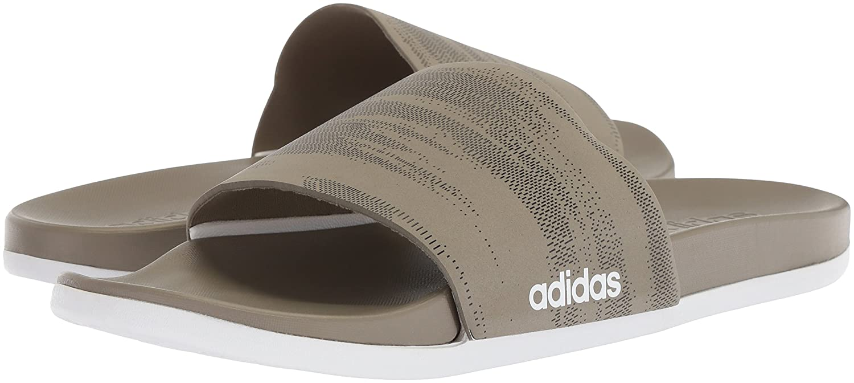 cheap for discount 10315 6ffc3 Adidas Core Black Men s Adilette FTWR White CF Carbon s + Link GR Sport  Sandalia, Core Black, FTWR White, Carbon s, 15 M US Trace Cargo  Core  Black  Trace ...