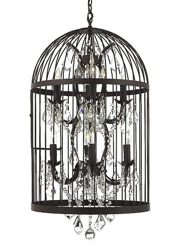 Amazon.com: Colgante de lámpara de araña con 8 castillos de ...