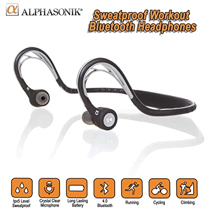 e88989a739c Photive BTH3 Bluetooth 4.0 Headphones with Built-in Mic: Amazon.in:  Electronics