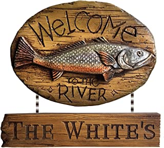 product image for Piazza Pisano Welcome to The River Personalized Sign