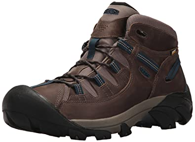 f65ce7d9508 Keen Men s Targhee II MID WP-M Hiking Boot Bungee Cord Legion Blue 7