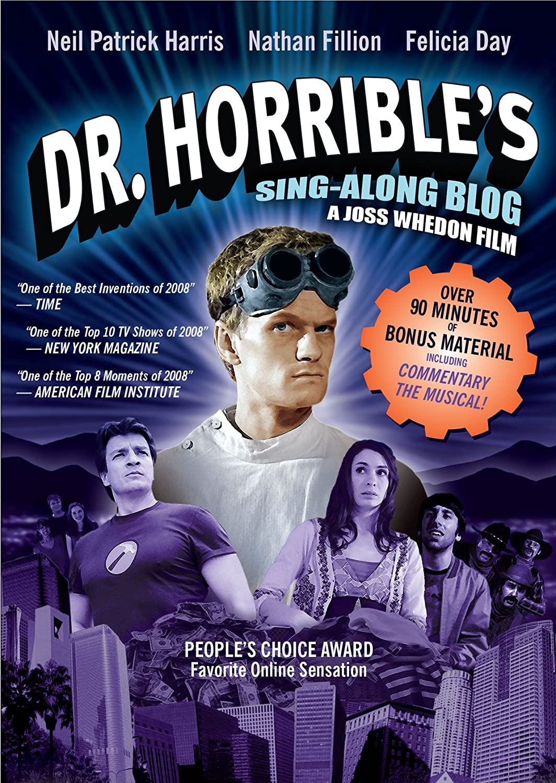 Dr. Horribles Sing-Along Blog Neil Patrick Harris Nathan Fillion Felicia Day Simon Helberg