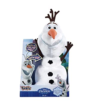 Disney Frozen Talking 36cm Tickle Time Olaf The Snowman Soft Plush Toy by Vivid