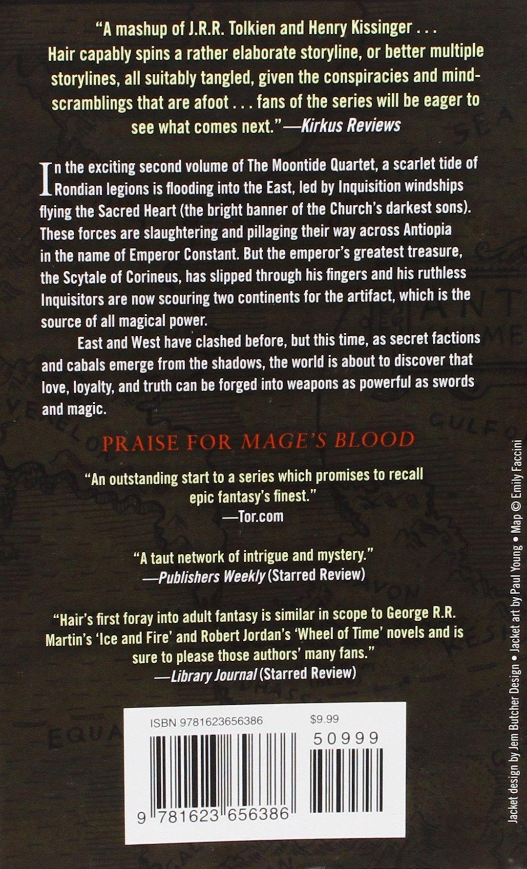 Scarlet Tides (the Moontide Quartet): David Hair: 9781623656386:  Amazon: Books