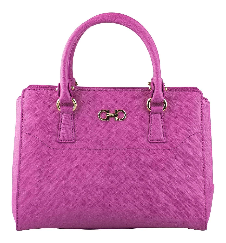 9af08950d1 Amazon.com   SALVATORE FERRAGAMO Anemone Pink Small Double Gancio Tote  Handbag   Baby