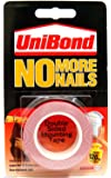 Unibond No More Nails Double Sided Tape Uni Bond Mounting Tape 19mm x 1.5m New