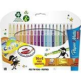 Papermate Reynolds Crealo Feutres de coloriage Super lavables Lot de 18