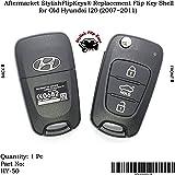 Sfk Replacement Flip Key Shell For Old Hyundai I20 (Uber Cool; Below 2012 Models)