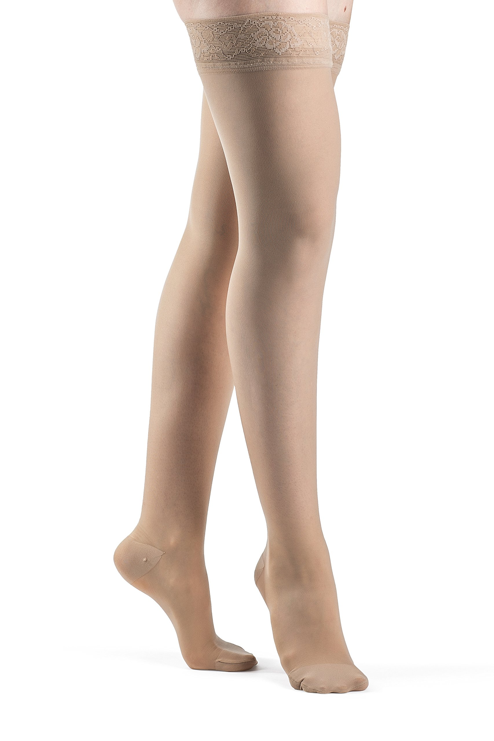 3f2249ad5 SIGVARIS Women s EVERSHEER 780 Closed Toe Thigh High w Grip-Top 15-20mmHg