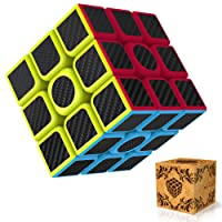 Rubiks Cube, Splaks Magic Cube 3x3x3 Smooth Speed Magic Cube Puzzle and Easy Turning ,Super Durable with Vivid Colors for Brain Training Game or Holiday Gift