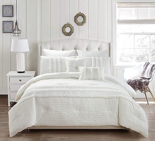 King Grey Duck River Textile April Comforter Set