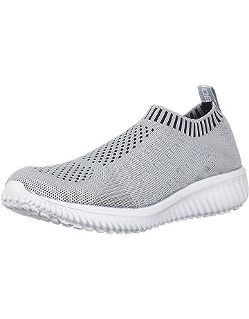 super popular 3d18d 07ecc TIOSEBON Women s Athletic Lightweight Casual Mesh Walking Shoes -  Breathable Running Sneakers