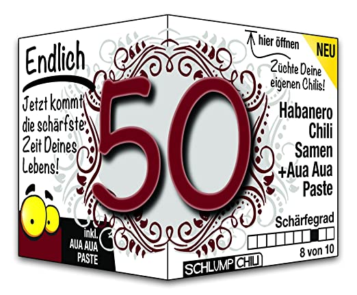 Was tun für einen 50. Geburtstag?