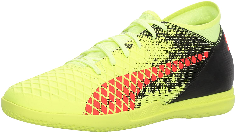 Puma Zukunft der Männer 18.4 IT Shoes Fizzy Yellow/Red Blast/Puma Black
