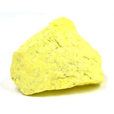 "EISCO Sulfur Specimen (Mineral), Approx. 1"" (3cm): Toys & Games"