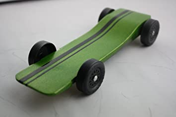 Pinewood Derby Car Kit Fast Speed Complete Ready To