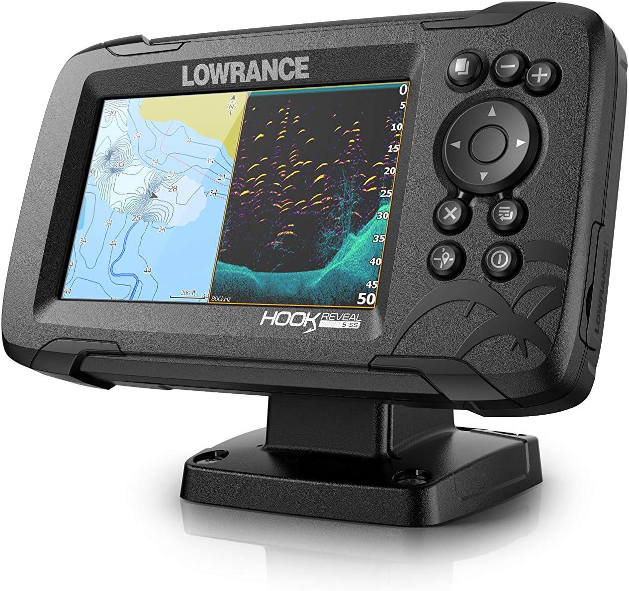 Lowrance Monitorhalter QRB-5 schwarz
