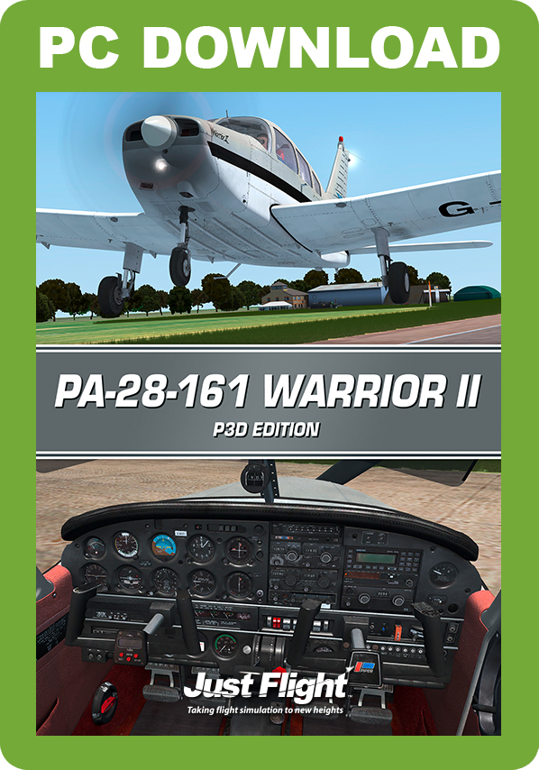 Amazon com: PA-28-161 Warrior II - P3D [Download]: Video Games