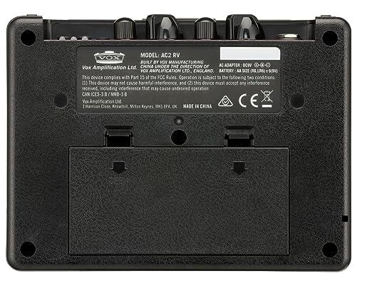 Amplificador combo para bajo Vox AC2 RhythmVOX Bass: Amazon.es: Instrumentos musicales