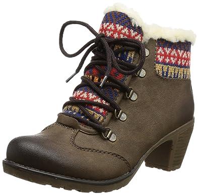 Rieker Größe 33, Farbe braun: : Schuhe & Handtaschen