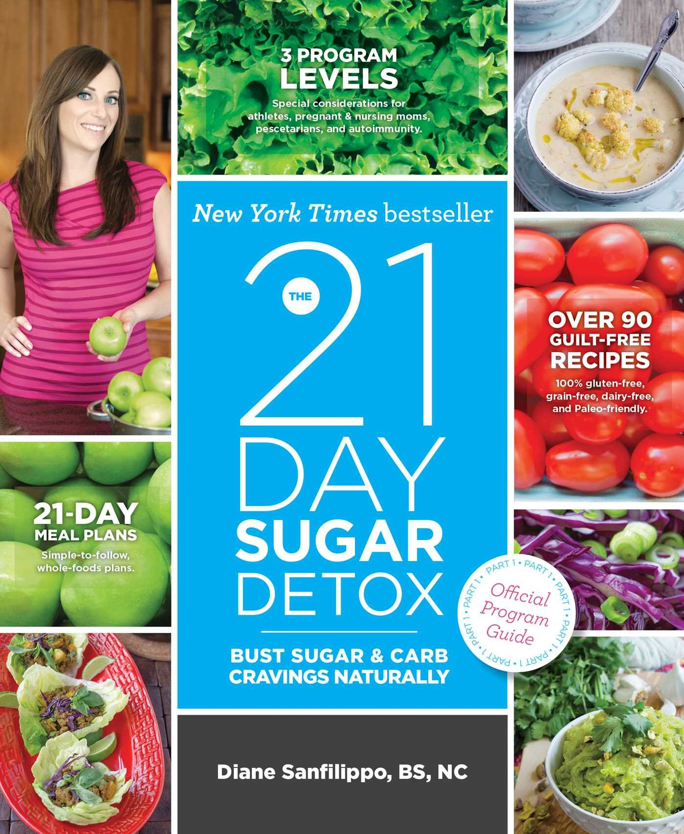 The 21-Day Sugar Detox: Bust Sugar & Carb Cravings Naturally: Diane  Sanfilippo BS NC: 9781936608119: Amazon.com: Books