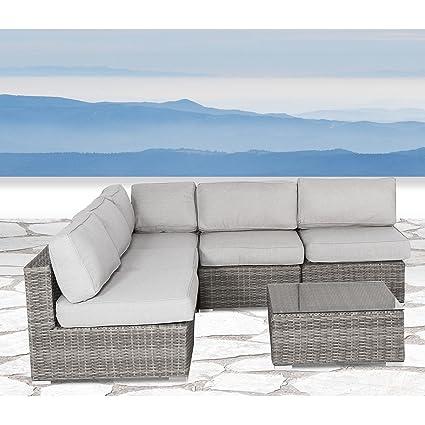 Amazon.com: Juego de sofá para patio, resistente a la ...
