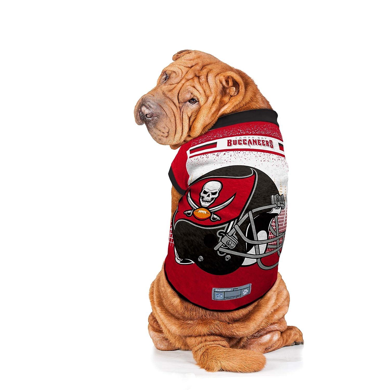 Medium Littlearth NFL Tampa Bay Buccaneers Pet Performance T-shirt