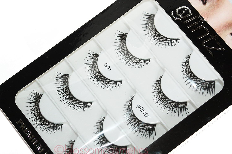 33c333b1584 Amazon.com : Glintz Premium Lashes 5 pair includes eyelash glue Amazing  Shine #333 : Beauty