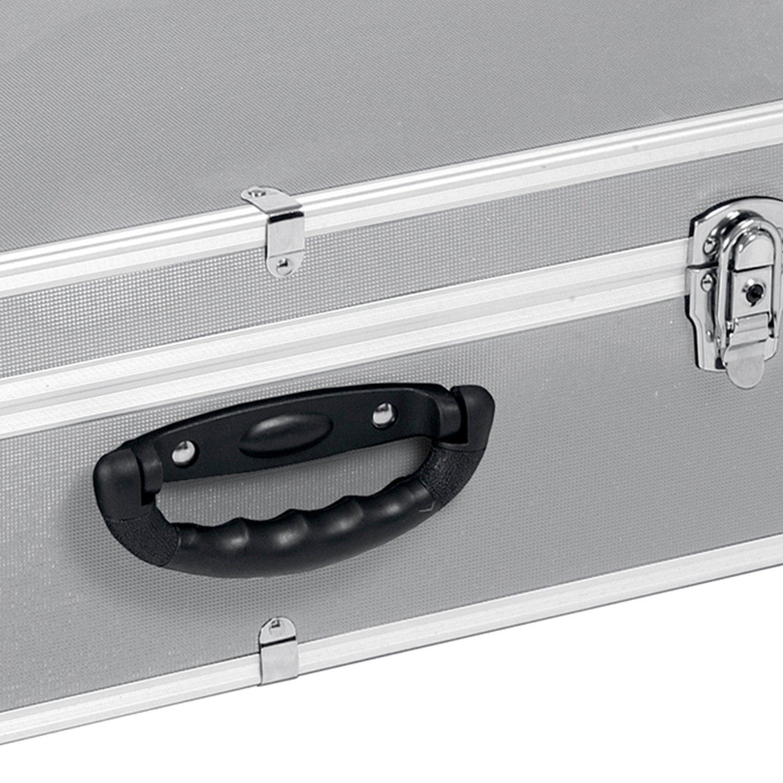 Neopren Lange Lebensdauer Dj Cd-koffer Alukoffer Für 60 Cds Mit Schlüssel Dj Case Box Innenraum Cases
