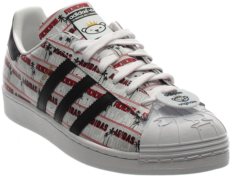 size 40 752dc b074b Amazon.com   adidas Originals Superstar NIGO BEARFOOT Sneakers  S75556 (11)    Athletic