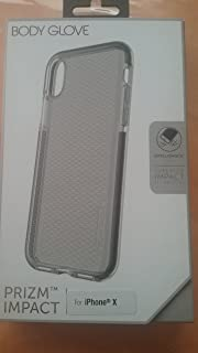 best service 4a8ca 2a52e Amazon.com: Body Glove Mirage Series Case for iPhone X - Space Gray ...