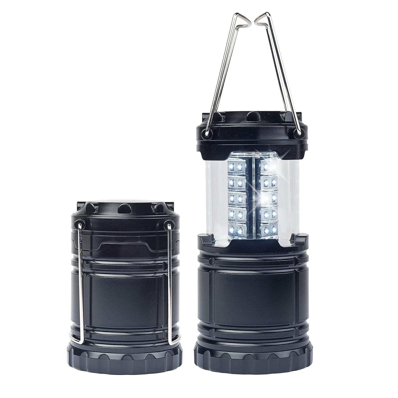 MELIANDA MA-4010  2er Set LED Campinglampe ausziehbar, platzsparend robuste Metallgriffe MELVU|#Melianda