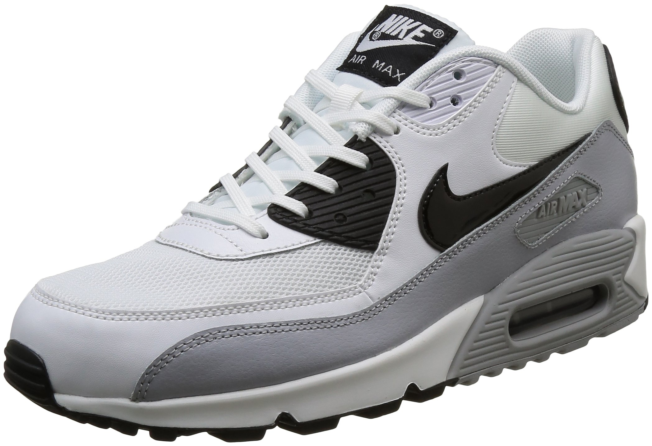 new concept b4299 86b03 Galleon - NIKE Air Max 90 Essential Women s Shoes White Black Wolf Grey  616730-111 (11 B(M) US)