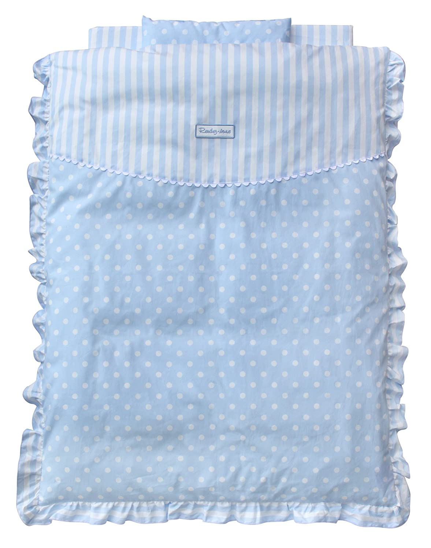 水色のミニベビー布団