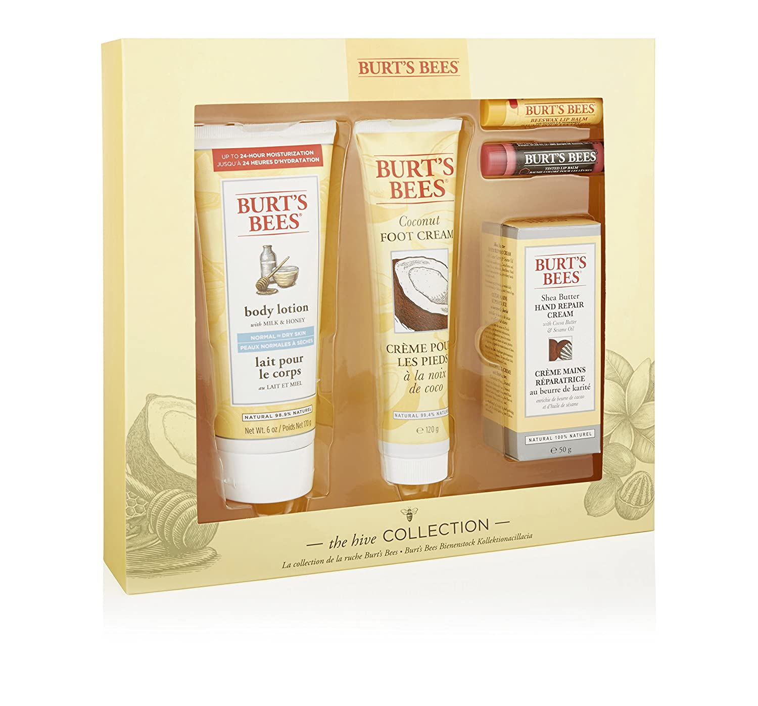 Burt Bees The HIVE Collection Gift set Cbee Europe Ltd 21201-14