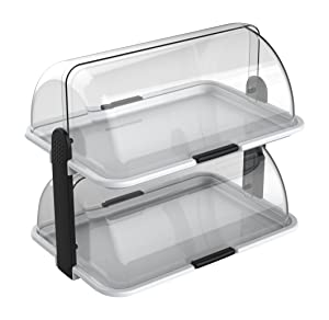 Cuisinox Double-Decker Countertop Bakery Display Case
