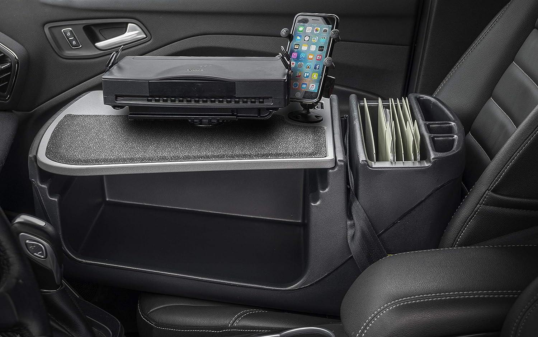 with Built-in Power Inverter, X-Grip Phone Tablet Mount AutoExec AUE08100 iPad Efficiency GripMaster Car Desk
