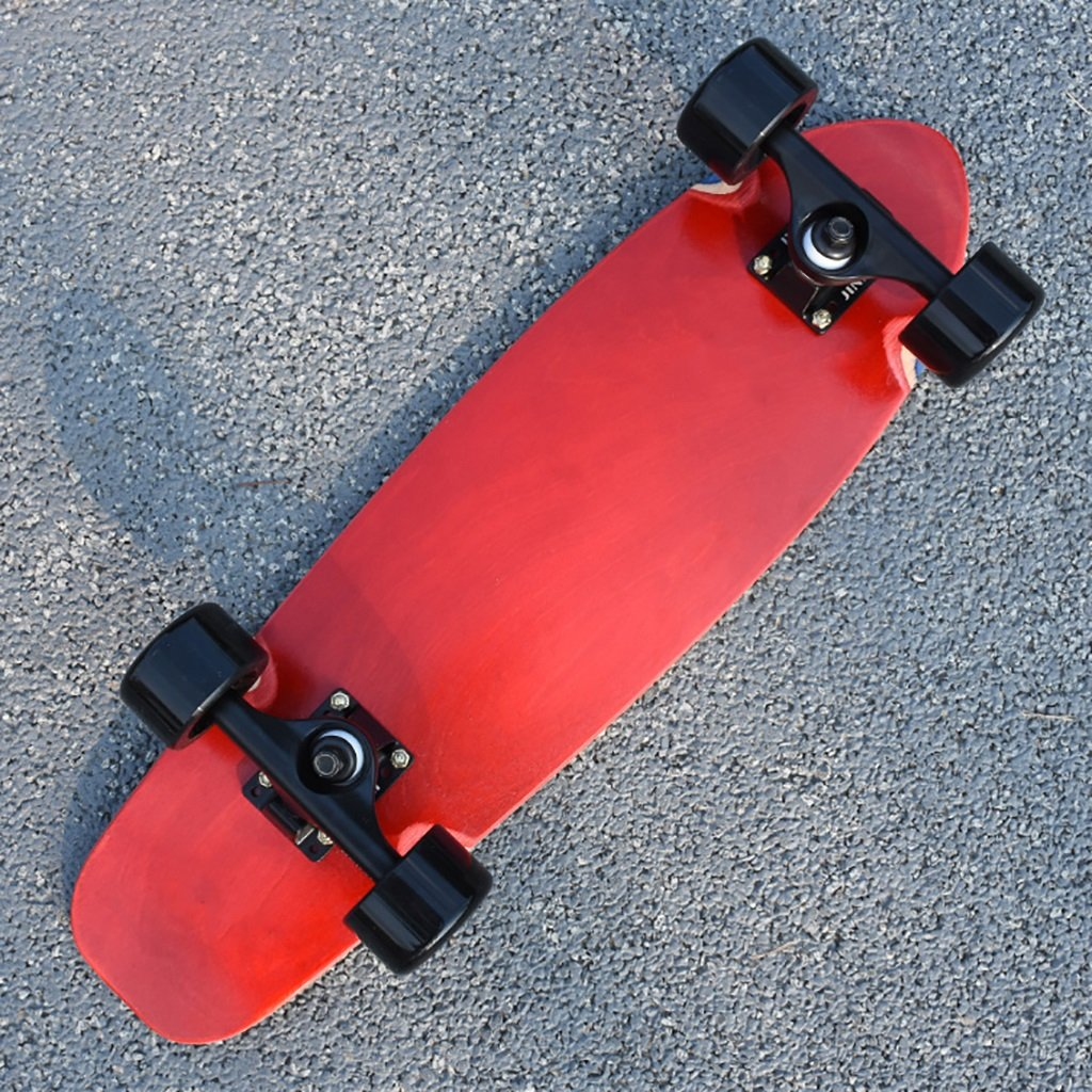 YONGLIANG アウトドアスポーツメープルアダルトブラッシュストリート四輪スケートボードトラベラーズボードクルーズボード男性と女性のスケート B07BQXV5F2 Red Red YONGLIANG Red Red, タブタブ&景品太郎:638a89ba --- integralved.hu