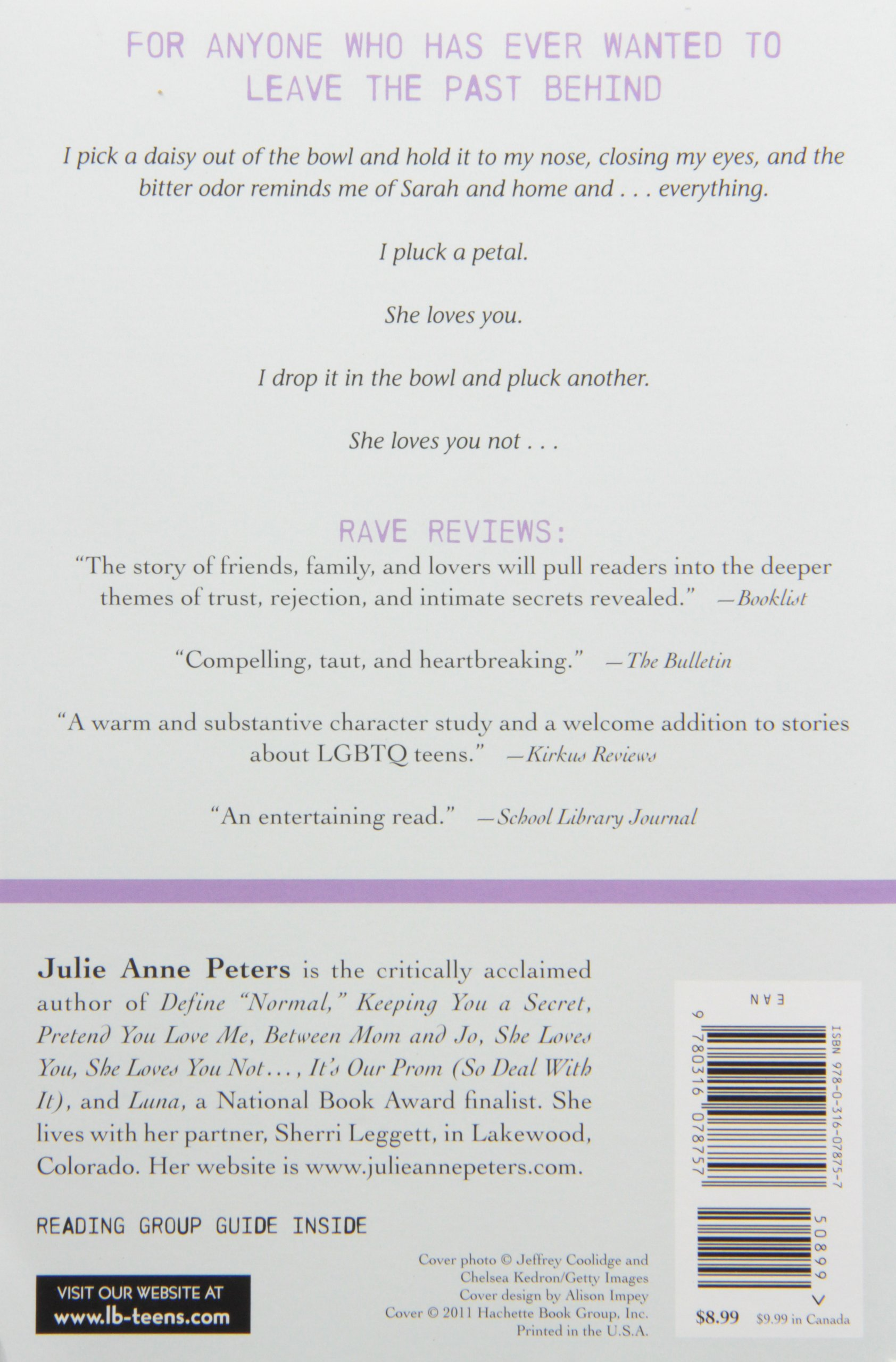 Amazon she loves you she loves you not 9780316078757 amazon she loves you she loves you not 9780316078757 julie anne peters books fandeluxe Images