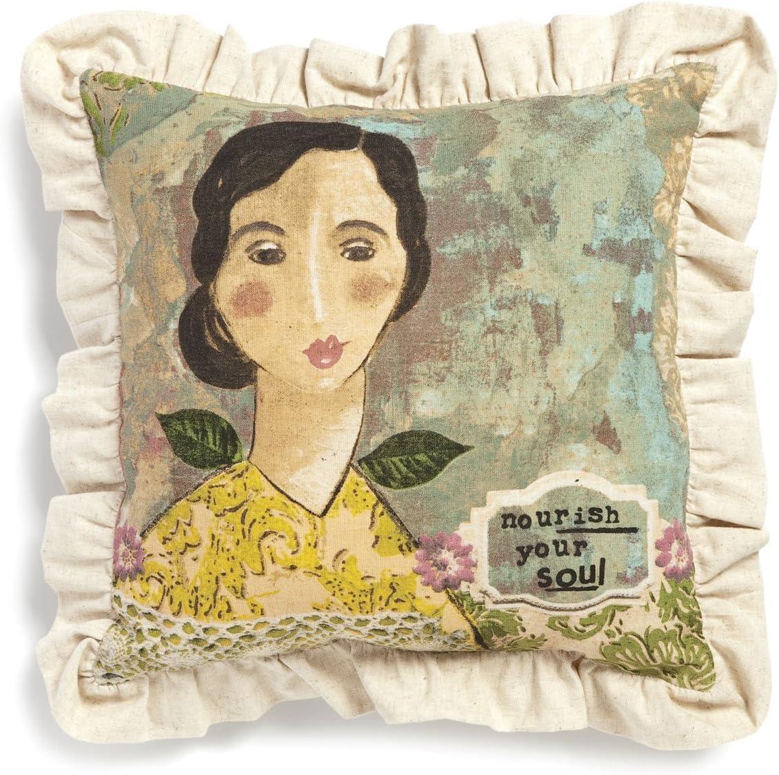 DEMDACO Nourish Your Soul Pillow