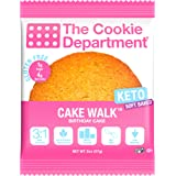 The Cookie Department - Keto Cookies, Gluten Free Certified, Non-GMO, Low Carb, No Sugar Added Snack Food (Cake Walk - Birthd
