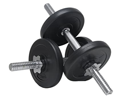 Juego de mancuernas 10 kg 15 kg 20 kg 30 kg fitness musculación biceps triceps Pesas