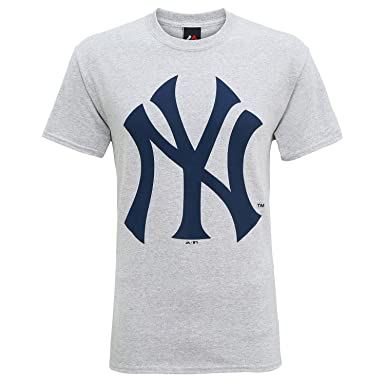 Official New York Yankees Baseball Large Logo T-Shirt 8c2efcb0172