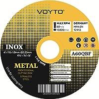 Discos de corte de acero inoxidable - discos