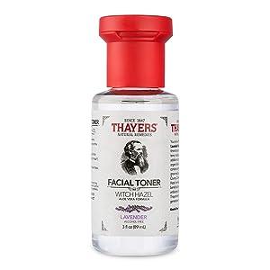 Thayers Trial Size Alcohol-Free Lavender Witch Hazel Facial Toner with Aloe Vera Formula - 3 oz