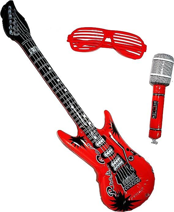Amazon.com: Juguete Inflable Joyin estrella de rock, juego ...