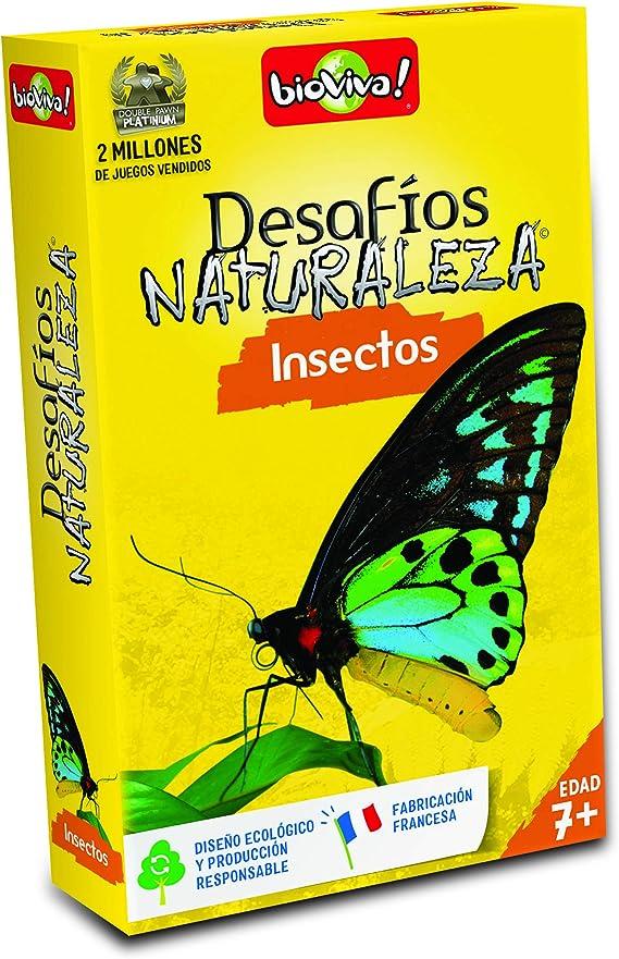 Bioviva- Juego De Cartas Desafíos Naturaleza Insectos (Asmodee ADE0DES06ES): Amazon.es: Juguetes y juegos