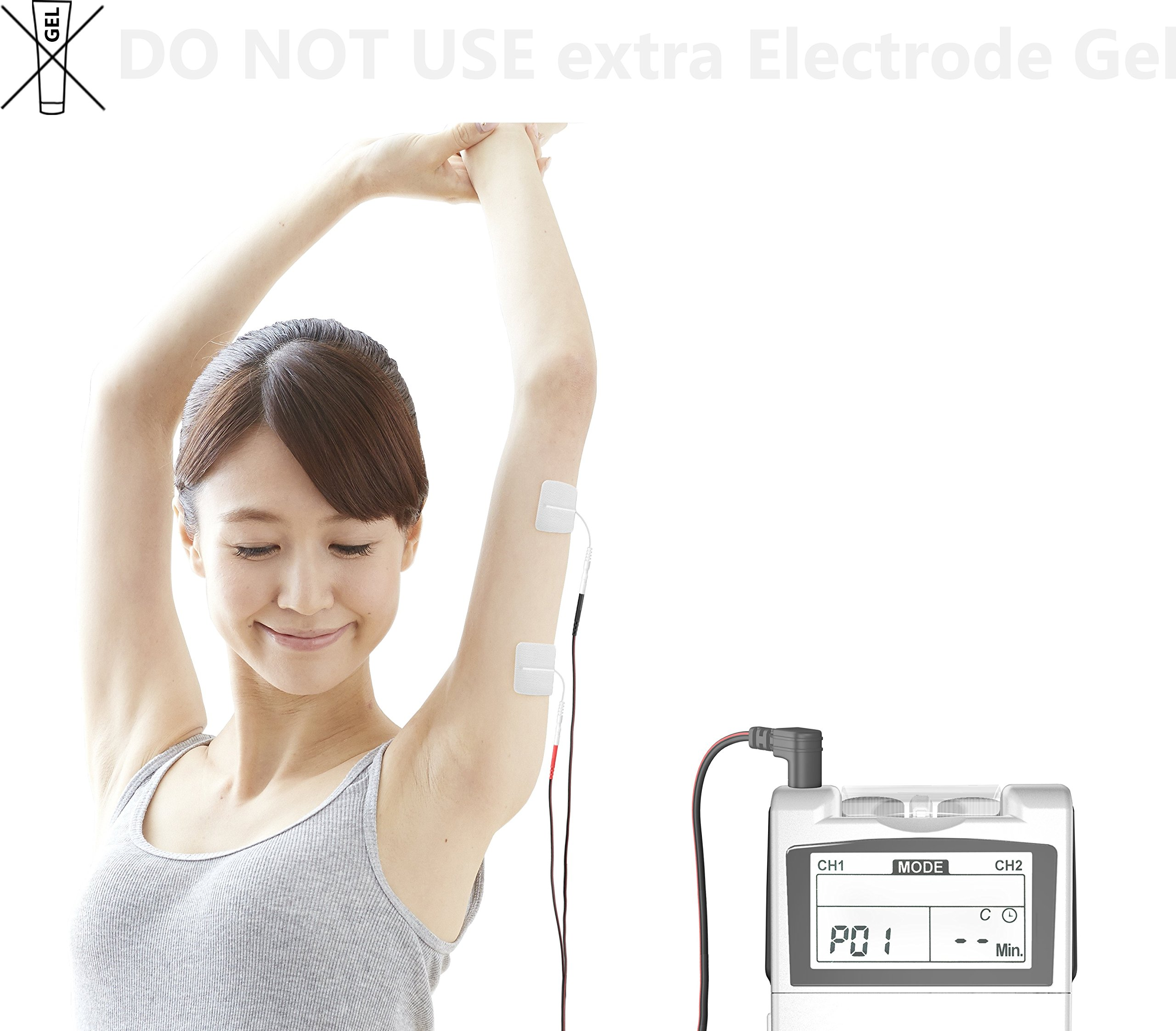 FDA Cleared TENS Unit iStim EV-820 TENS Machine for Pain Management, Back Pain and Rehabilitation by iSTIM (Image #5)